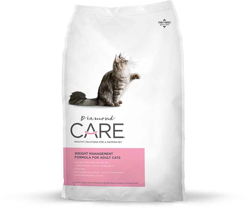 Diamond Care Weight Management Formula for Adult Cats
